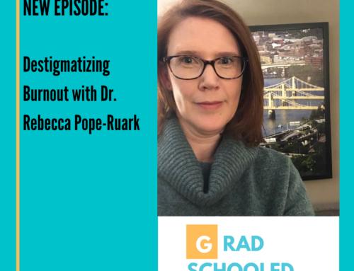 Destigmatizing Burnout with Dr. Rebecca Pope-Ruark